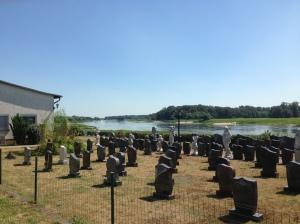 Friedhof an der Elbe